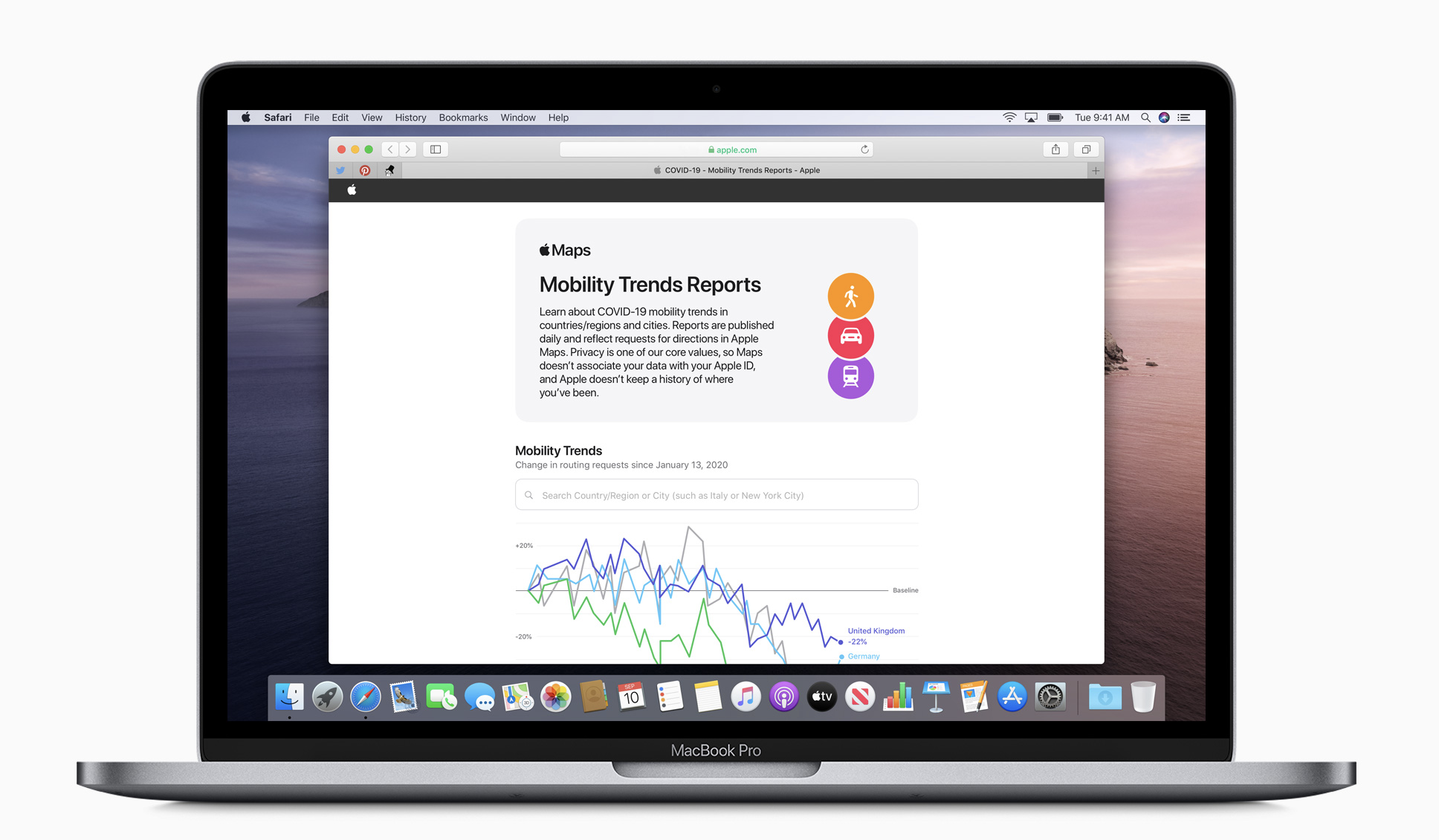 Apple makes mobility data available to aid COVID-19 efforts