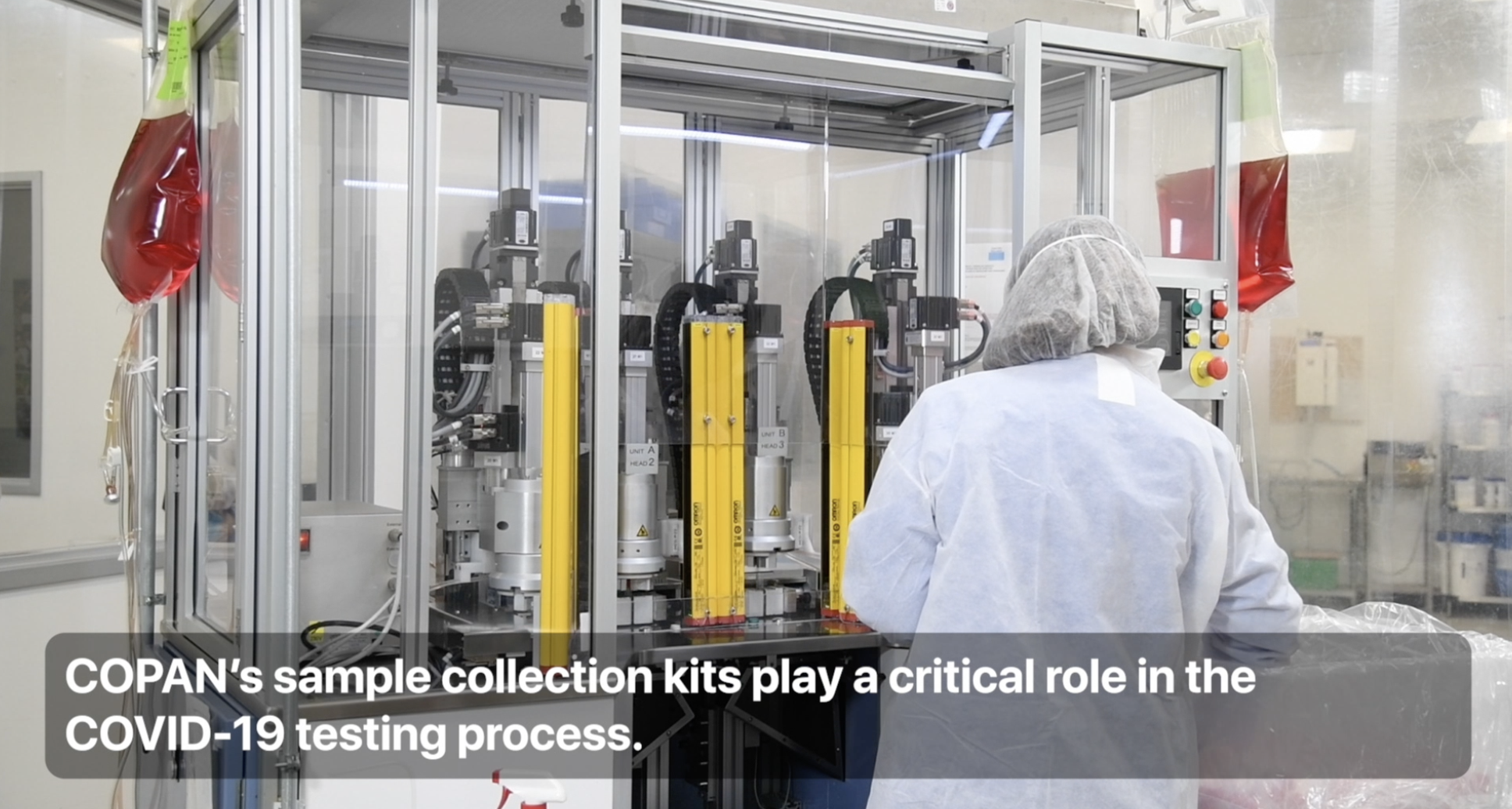 Apple awards $10 million from Advanced Manufacturing Fund to COPAN Diagnostics
