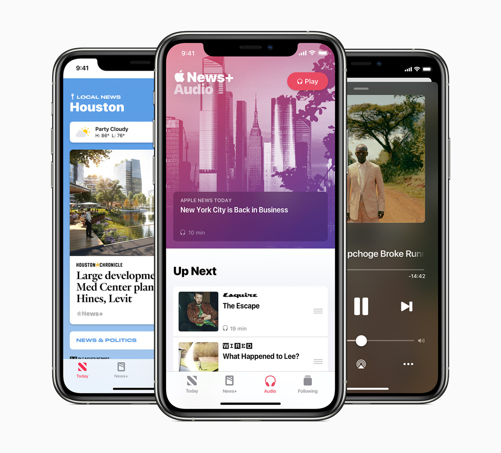 Apple News launches new audio features, expands local news offerings for readers