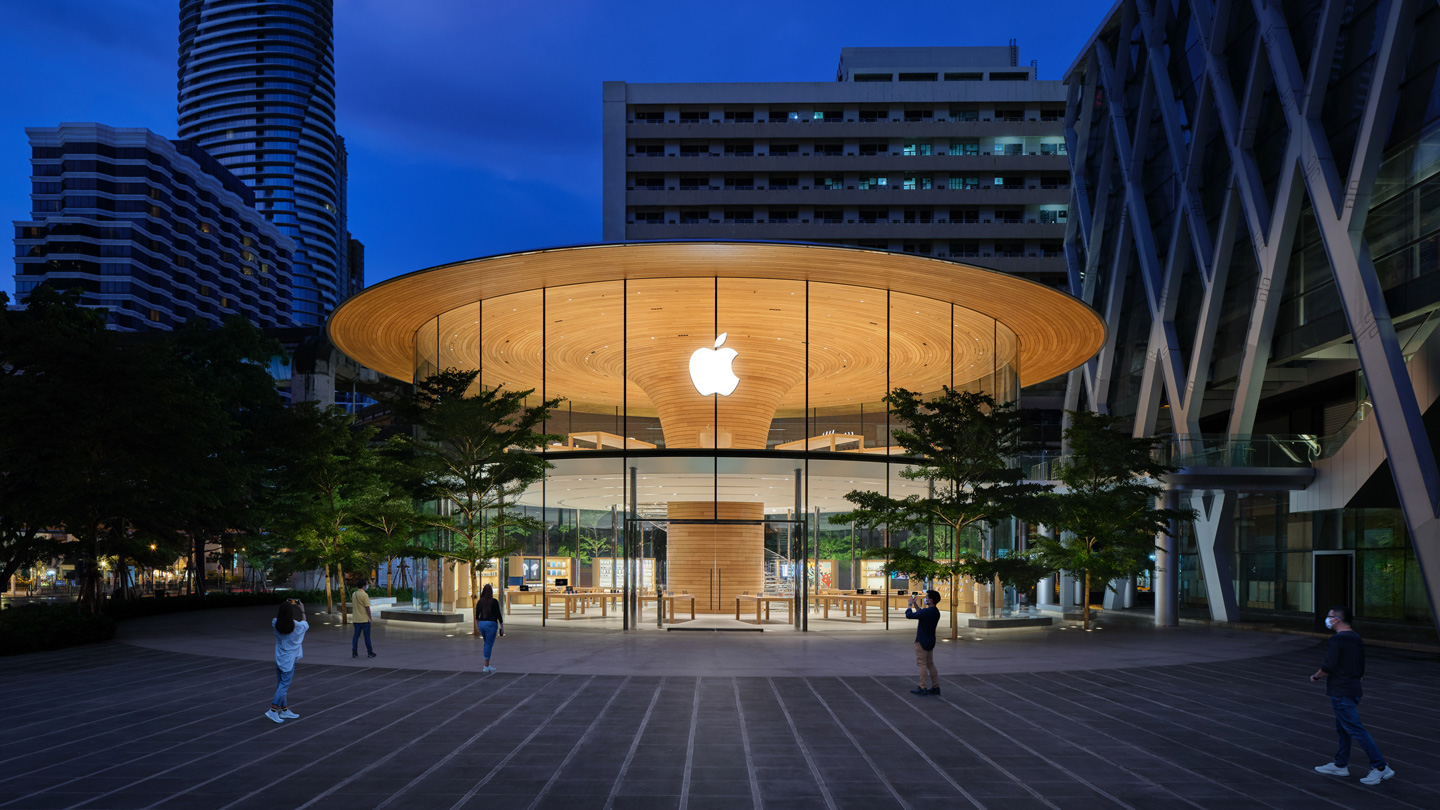 Apple Central World opens Friday in Thailand